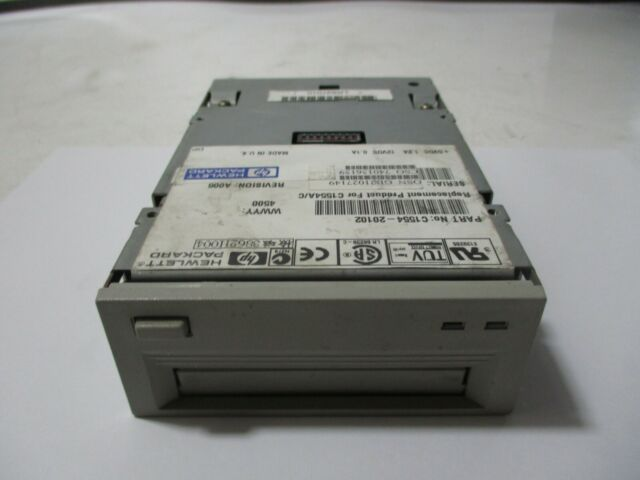HP C1554 20102 REPLACEMENT FOR C1554AC 1224Gb DDS 3 TAPE DRIVE