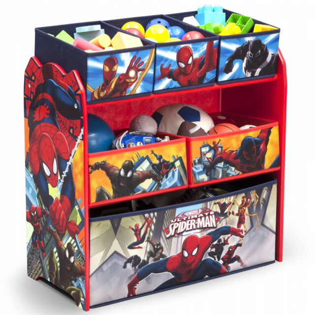 Paw Patrol Toy Organizer Bin Cubby Kids Child Storage Box: Dakavia Toy Bin Organizer Kids Childrens Storage Box