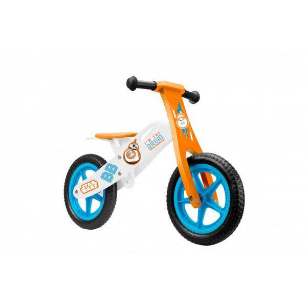 STAR WARS Kinder Holz Laufrad Lauflernrad Kinderrad Runner Lernrad Fahrrad 12 Zo
