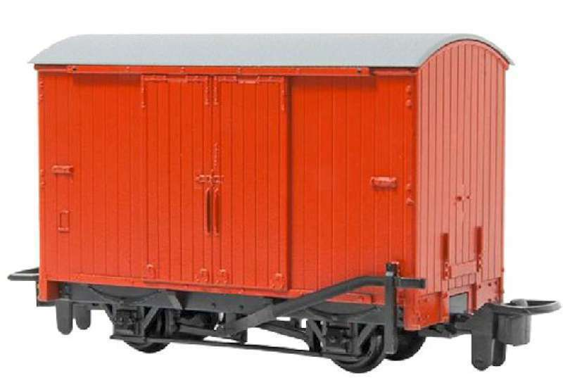 Bachmann Industries HOn30 Box Van, Red 022899772035