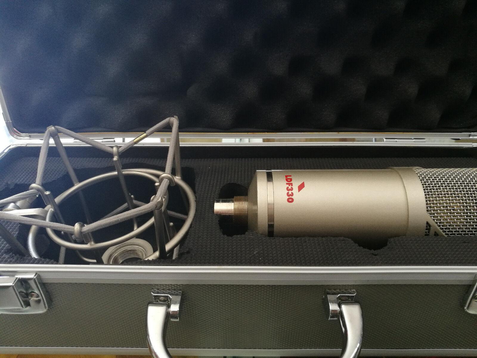 PROEL LDF330 Microfono a Condensatore con diaframma doppio da 1,07 + Case Rigido