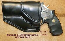 Gary Cs Avengerxh Revolver Holster Left Hand Sampw K Frame 4 Heavy Leather