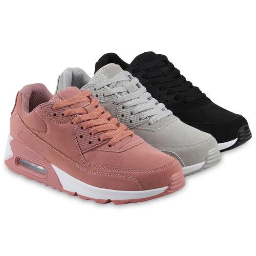 Damen Sportschuhe Profil Laufschuhe Schnürer Turnschuhe Sneaker 822227 Schuhe