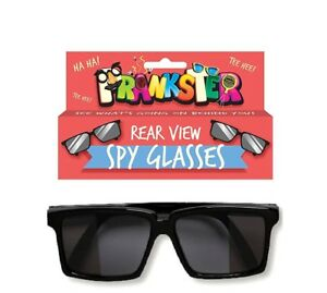 af3bb14c7b Rear View Spy Glasses - Black Sunglasses - See Behind You! - Novelty ...