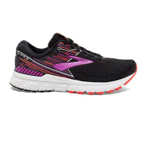 BROOKS-Femme-Adrenaline-GTS-19-Chaussures-De-Course-Baskets-Sneakers-Noir-Sport