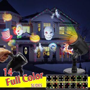 Proiettore di halloween da giardino led luce impermeabile for Decorazione giardino natale