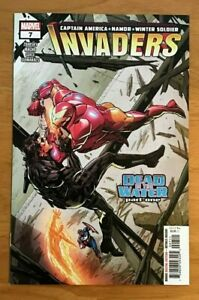 Invaders-7-2019-Butch-Guice-Main-Cover-1st-Print-Marvel-Comics-NM