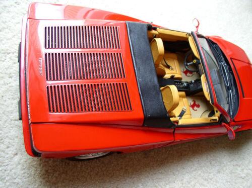 Pocher 1//8 Ferrari Testarossa Spider Rear Metal Hood Grille NEW