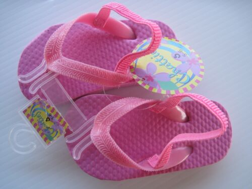 Flips Flops with straps~Toddler girls ~ You Pick color and size~NEW