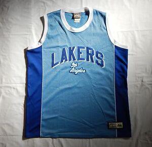 MAJESTIC HARDWOOD CLASSICS LOS ANGELES LAKERS XXL NBA BASKETBALL ...