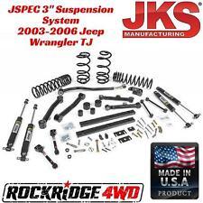 """JKS Manufacturing JSPEC 3"""" Suspension System 2003-2006 Jeep Wrangler TJ LJ USA"""