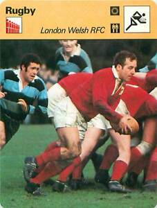 """FICHE CARD: London Welsh RFC England Billy Hullin RUGBY à XV 1970s - France - Jeux Olympique Olympic GamesPORT EUROPE GRATUIT A PARTIR DE 4 OBJETSBUY 4 ITEMS AND EUROPE SHIPPING IS FREE FICHE FRANCE ANNEES 70s ETAT VOIR PHOTO FORMAT 16 CM X 12 CM SIZE : 6.29 """" X 4.72 """" inch FICHE SPORT RUGBY-3 - France"""