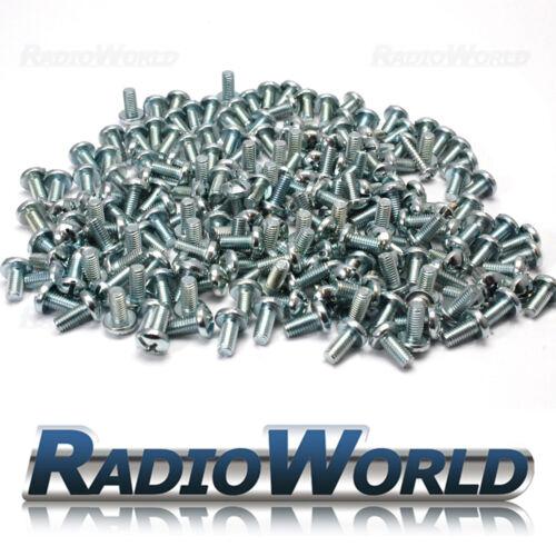 Philips Bolts Screws Button// Pan Head Steel Zinc Plated M1 M2 M2.5 M3 M3.5 M4 M5