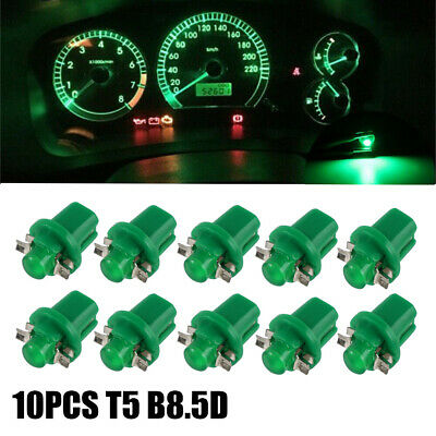 20x White B8.5D 1SMD Car LED Gauge Dashboard Instrument Dash Panel Light Lamp