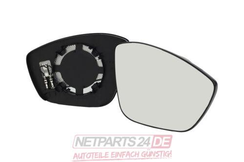 Neuware Außenspiegelglas Spiegelglas rechts konvex beheizbar Peugeot 208 03//12