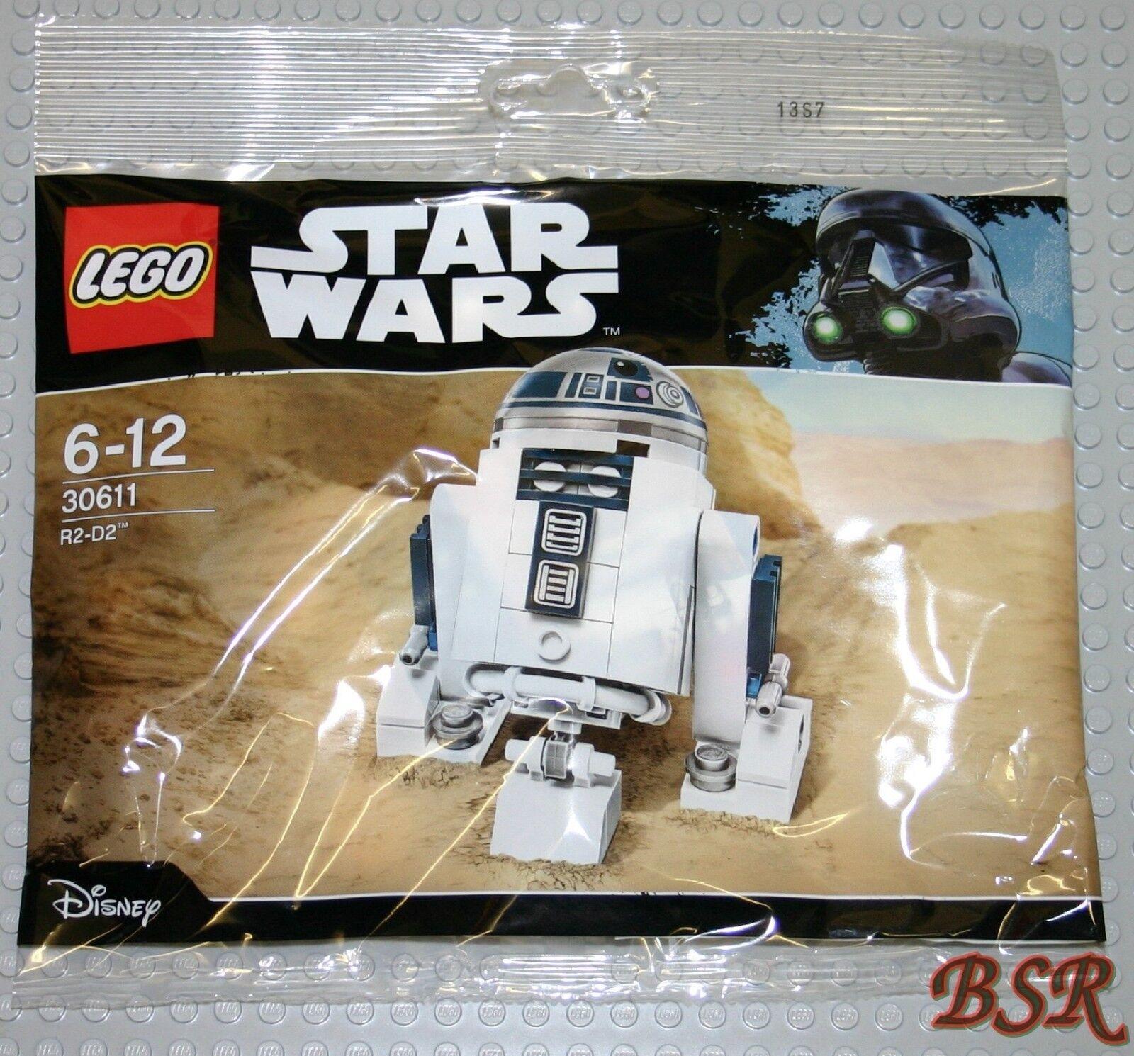 30 pezzi LEGO ® Star Wars PolyBorsa: 30611 r2-d2/r2d2 & 0.€ Spedizione & NUOVO & OVP