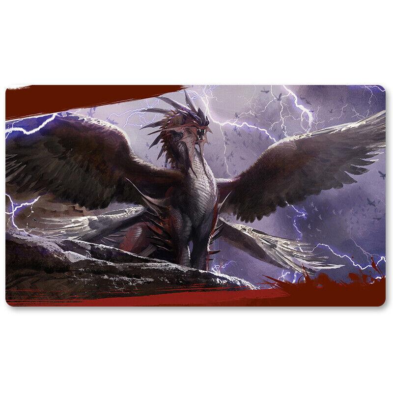 Dragonlord Kolaghan - Board Game MTG Playmat Games Mous