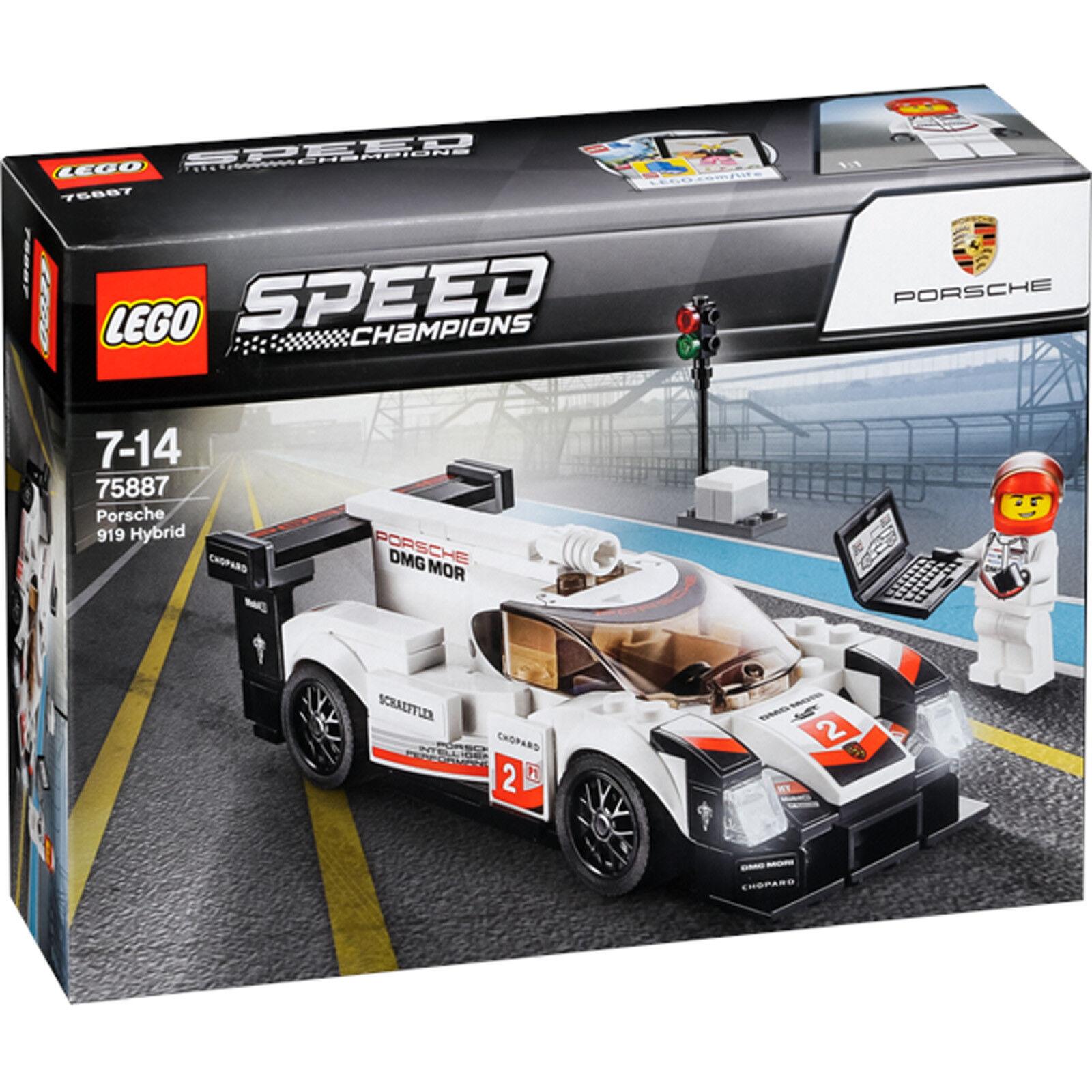 (Slightly Tatty Box) New LEGO Speed Champions Porsche 919 Hybrid 75887
