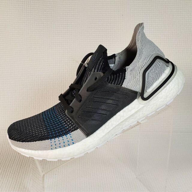 adidas Ultra Boost 19 Black Grey Cyan