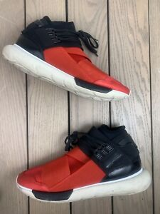 5d2218690b6a2 ADIDAS Y-3 QASA HIGH YOHJI YAMAMOTO ROYAL RED BLACK WHITE S83174 NMD ...
