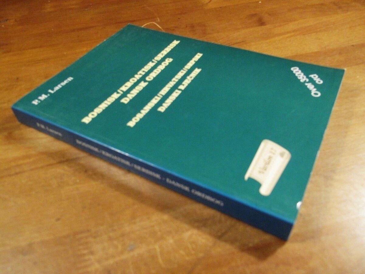 kroatisk dansk ordbog