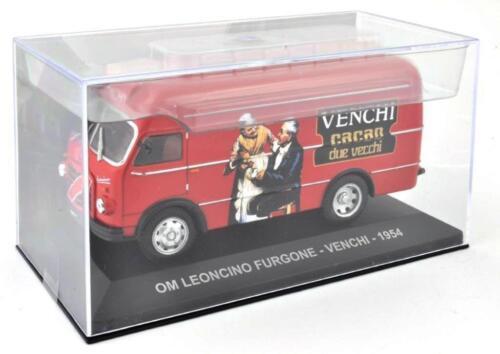 FOURGON TRANSPORT CAFE-CAMION ITALIEN PUB-C48 1//43 IXO ALTAYA OM LEONCINO