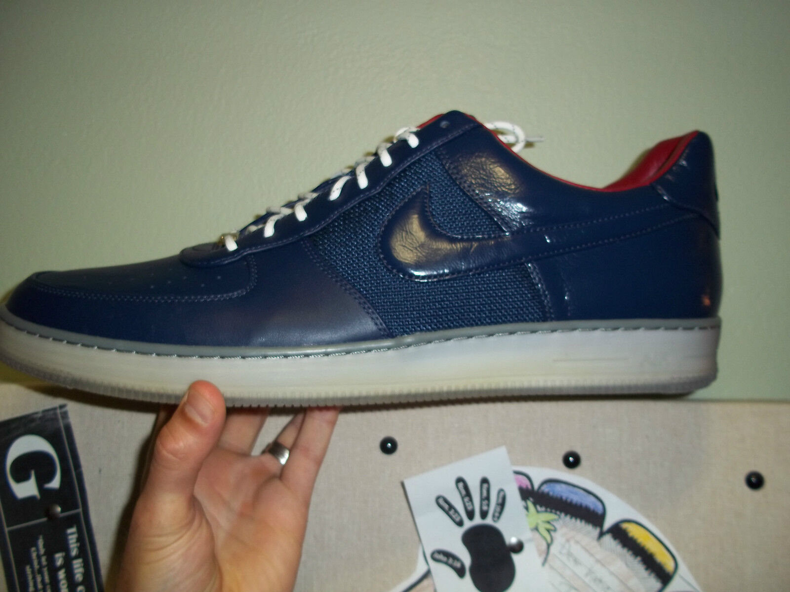 Men's Nike AF1 Downtown Sz. 18 Price reduction Midnight Navy