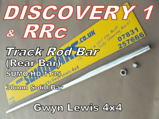 Discovery 1 Range Rover DRAG LINK 30mm Heavy Duty Steering Bar SUMOBARS 300TDI