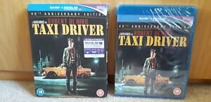 TAXI-DRIVER-40th-Anniversary-Edition-2-Disc-BLU-RAY-Brand-New-and-Sealed