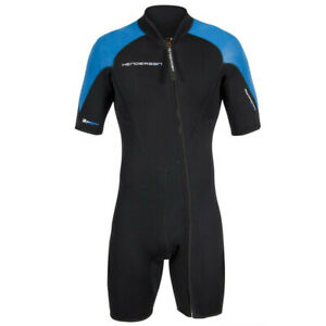 Henderson Mens 3mm Thermoprene Pro Front Zip Shorty Wetsuit