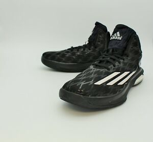 ADIDAS-Mens-Basketball-Shoes-034-Crazylight-Boost-034-Black-Sz-US12-EUC-224