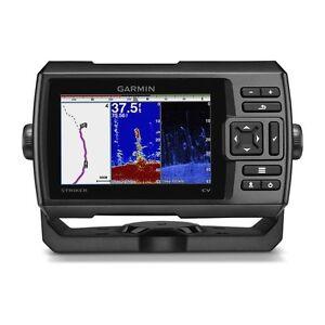 Garmin-STRIKER-5cv-Fishfinder-w-ClearVu-Sonar-Transducer-010-01807-00-BRAND-NEW