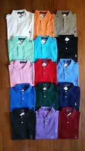 Men-Polo-Ralph-Lauren-SOFT-TOUCH-Interlock-Polo-Shirt-S-M-L-XL-XXL-STANDARD-FIT