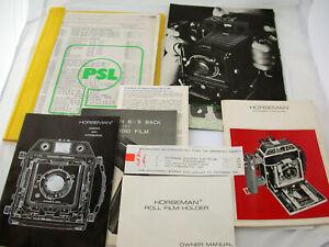 HORSEMAN-985-Multiformat-6x9-rollfilm-camera-large-format-movements-FULL-SET-TOP