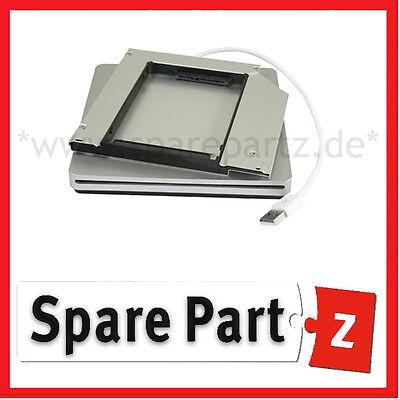 Diligente Kit Ext. Unità Superdrive Case + Telaio Di Montaggio Disco Rigido Ssd Apple Macbook Pro 17 2011- Essere Romanzo Nel Design