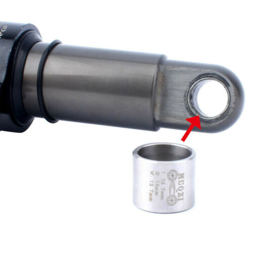 2Pcs 12.7x15mm DU Bushing for MTB Mountain Bike Bicycle Rear Shock Absorber
