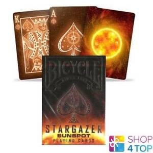 BICYCLE-STARGAZER-SUNSPOT-SPIELKARTEN-MAGISCHE-TRICKS-POKER-CARDS-DECK-STANDARD