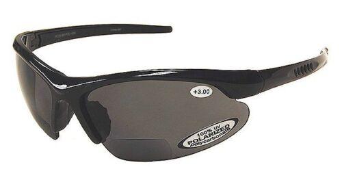BiFocal Polarized Sunglasses Fishing Reading Mens 100/% UV Wrap Around TR90 Frame