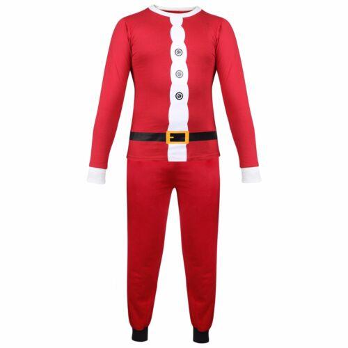 Kids Girls Boys PJ/'S Santa Claus Christmas Pyjamas Xmas Nightwear Age 2-13 Years