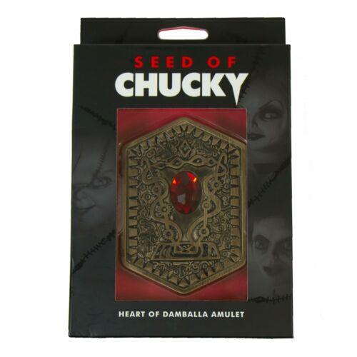 Seed Of Chucky Heart Of Damballa Amulet Jewel Halloween Costume Necklace Prop