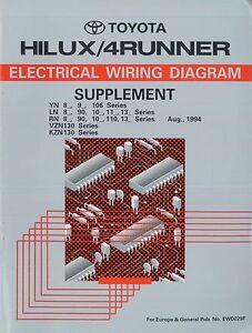 Miraculous 1993 Toyota Hilux 4Runner Yn 106 Rn 110 Electrical Wiring Diagram Wiring Cloud Usnesfoxcilixyz
