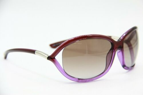 NEW TOM FORD TF 8 83F JENNIFER PURPLE GRADIENT AUTHENTIC SUNGLASSES 61-16