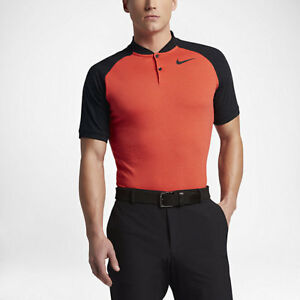 8fd63a28 NWT Nike Raglan Slim Fit Golf Polo Sz M (833079 852) MM TW Rory Day ...