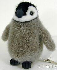 KOSEN Made in Germany NEW Gray, Black & White Baby Emperor Penguin Plush Toy