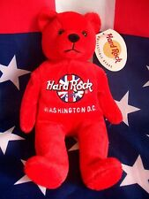 HRC Hard Rock Cafe Washington Rita Bear Beara Bär Teddy Herrington