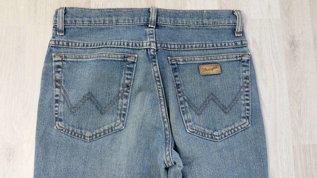 H2731 Wrangler Texas Stretch Jeans W31 Blau  L32 gut  | Beliebte Empfehlung