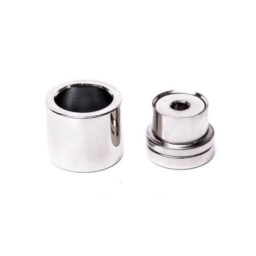 ohne Presse einsetzbar Knopfwerkzeuge zum Beziehen von Knöpfen mit Stoff