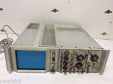 Tektronix D12 Dual Beam Oscilloscope 5A14N 5A18N  5B10A Vintage Test Equipment