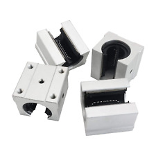 4pcs Sbr20uu Aluminum Block 20mm Linear Motion Ball Bearing Slide Block Match