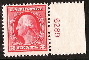 US-Stamp-406-MNH-OG-Plate-Number-Single-PNS-HSS-2